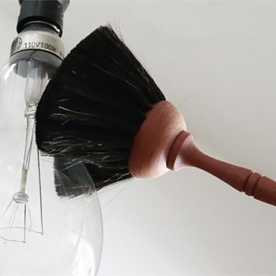 Duster Brush / Goat Hair 34cm
