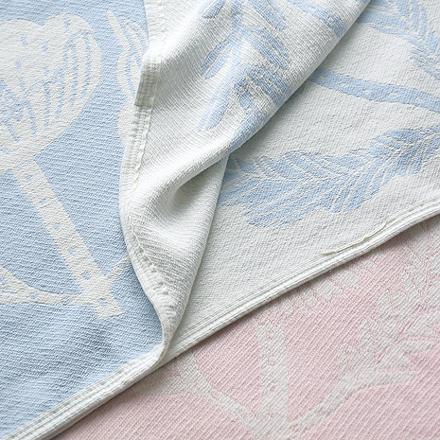 VILLIKUKKA Cotton Blanket Full