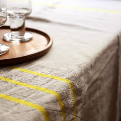 USVA Big linen Blanket W150×H260cm