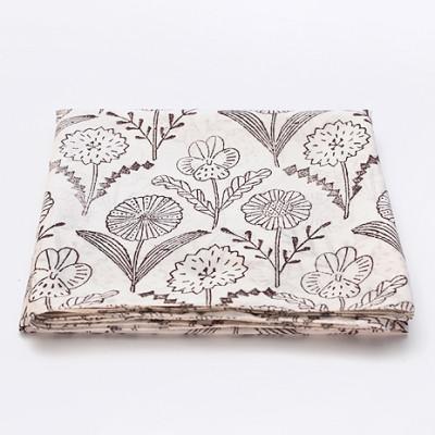 Woodblock Print Handkerchief Mono