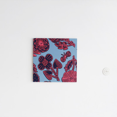 """Animato"" Fabric Panel 45×45cm"
