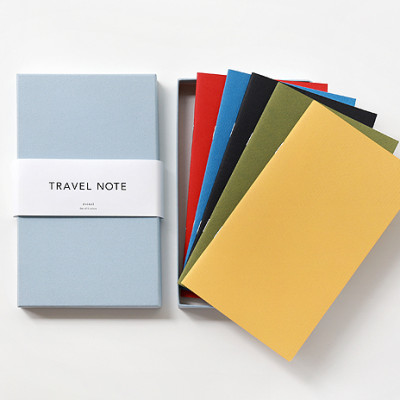 TRAVEL NOTE BOX SET (5 notebooks)