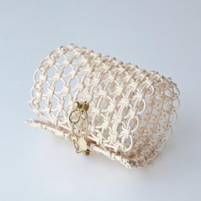 ARABESQUE Bracelet LONG WHT