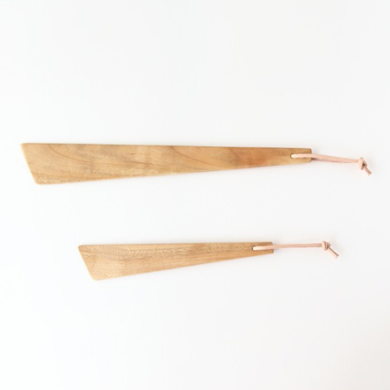 Wooden Spatula short