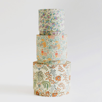CIRCLEBOX SET<br/>flower pattern