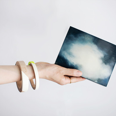 Wooden Box - Nuages