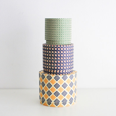 CIRCLEBOX SET geometric pattern