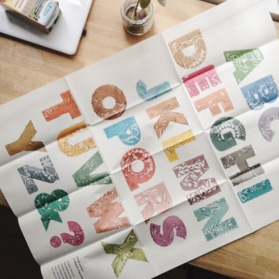 ZUAN Letters<br/>Poster color