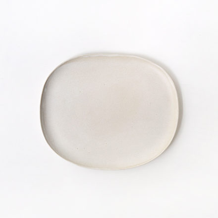 Stoneware Oval Plate 22cm