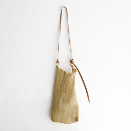 Handwoven Extra Fine Maguey Mesh Bag - natural