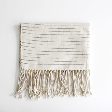 Handwoven Ikat Cotton Hand Towel