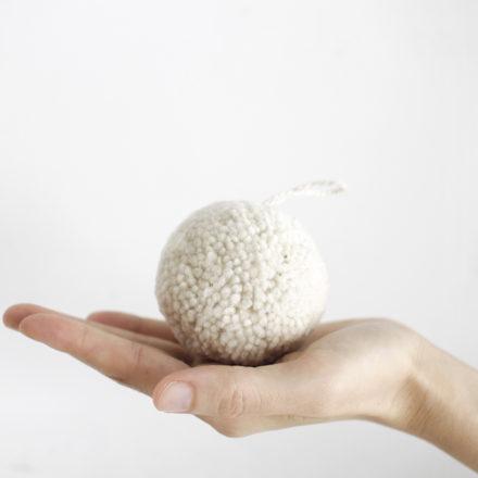 Large Pompom - natural