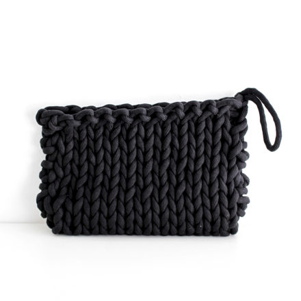 Cotton Rope Clutch