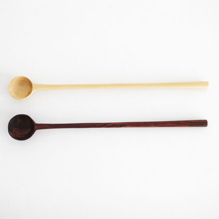 Tropical Wood Cocktail Spoon
