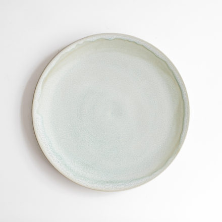 Stoneware Plate Round 26cm - green