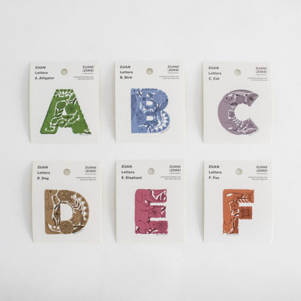 ZUAN Letters sticker