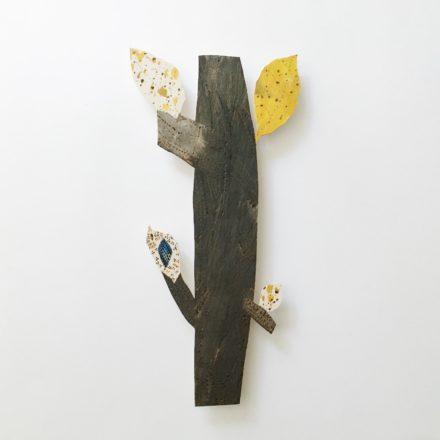 Wall Piece / Leaf branch [#38]