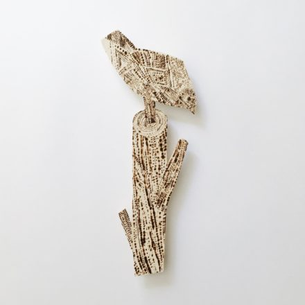 Wall Piece / Bird on a Branch [#44]