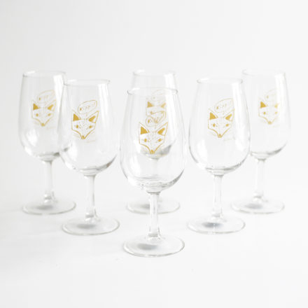 Wine Glass 6pc Set