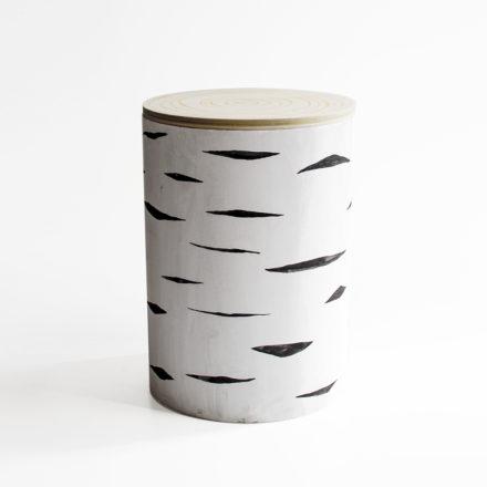 Log [#1] - white