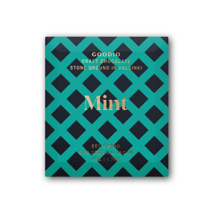 Mint organic raw chocolate