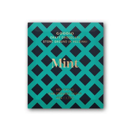 Mint organic raw chocolate