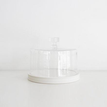 Classical Platform 21cm<br>+ Glass Dome 19.5cm