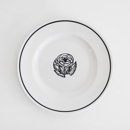 SIDE PLATE 21cm Rose