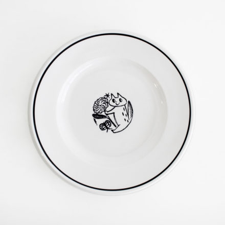 SIDE PLATE 21cm Cat