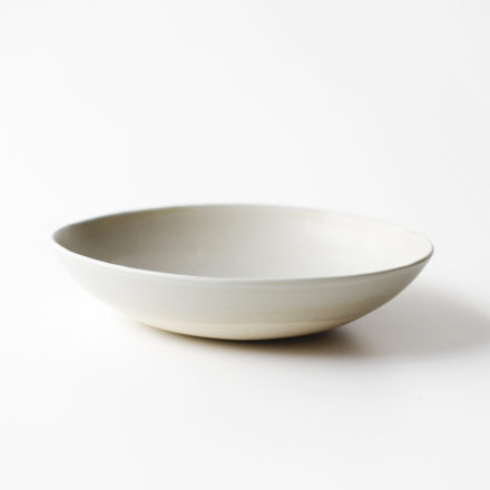 Stoneware Hand Formed Bowl 18cm - midium grey