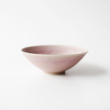 Stoneware Bowl 14cm - pale pink