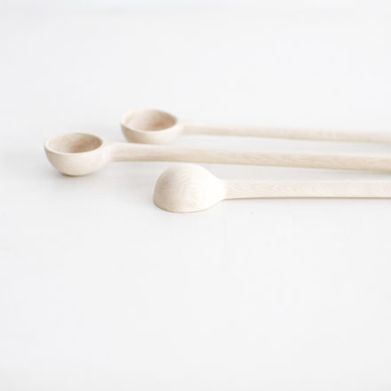 Handmade Jacaranda Wood Cocktail Spoon