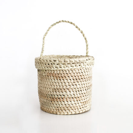 Nudos Handwoven Bucket Bag