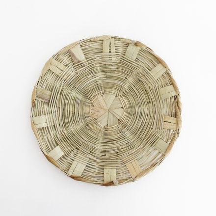 Handmade Carrizo Sandwich Plate