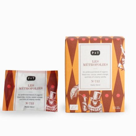 712 LES MÉTROFOLIES Tea Bags