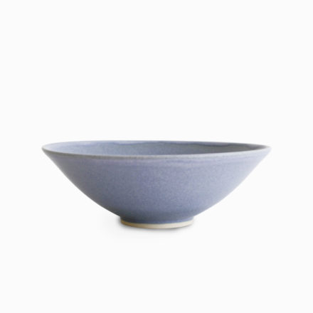 Stoneware Bowl 14cm - matt grey blue