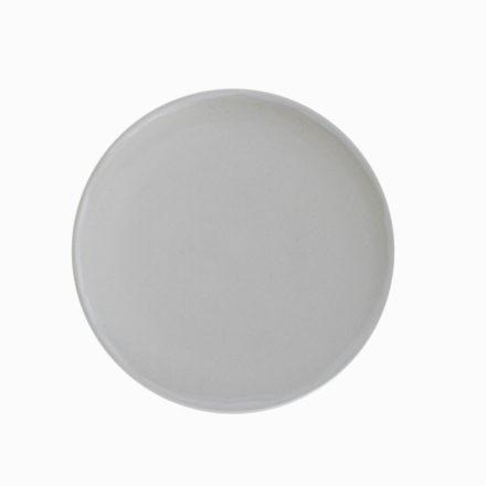 Stoneware Plate Round 20cm - matt pale blue