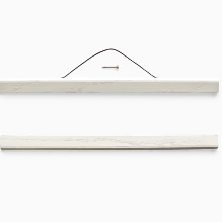 Poster Hanger short white oak