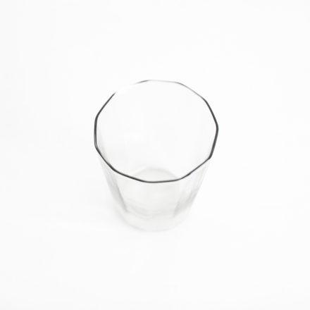 十一角グラス - グレー