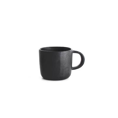 マグカップ 黒溜塗
