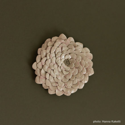 Ceramic flowers - Halla