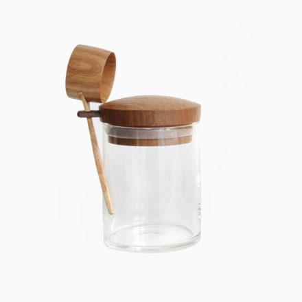コーヒーキャニスターと珈琲杓のセット S