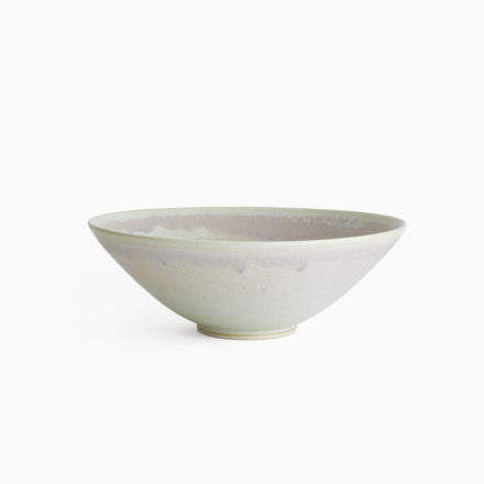 Stoneware Bowl 20cm - crystallized pink blue