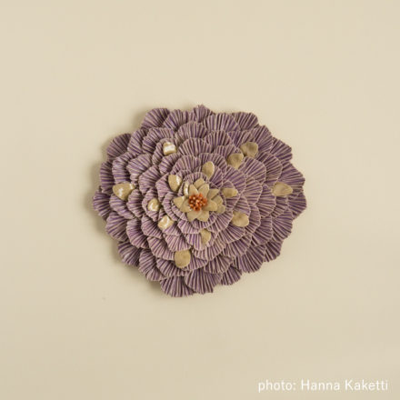 Ceramic flowers - Keto-ohdake