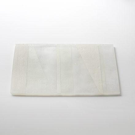 [予約販売] Plate Wide S - white