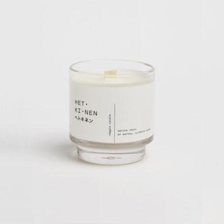 HETKINEN Veggie candle Spruce resin 260ml