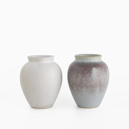 Stoneware Flower Vase h12cm