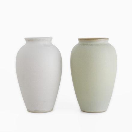 Stoneware Flower Vase h18cm
