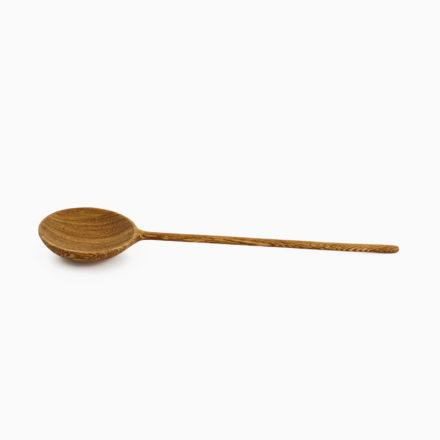 Handmade Tropical Wood Serving Spoon