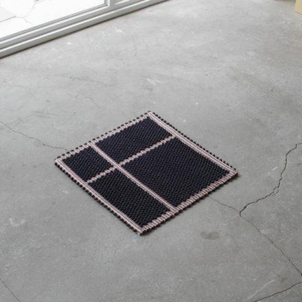 [受注生産] SEAT COVER<br>- COPRISEDIA DIVISO UNO UNO 35 x 35cm - BLACK/RED/CREAM(2枚セット)